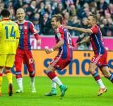 Champions League: Arsenal Bayern Monaco 1-5, doppietta Vidal