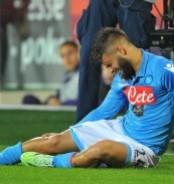 Il Napoli perde partita e Insigne: Champions in salita