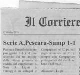 Serie A, Pescara-Samp 1-1